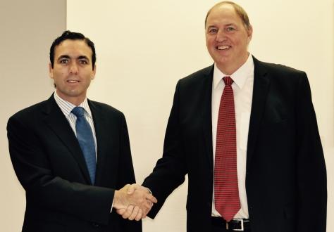 Ecuador's Minister for External Trade Pablo Campana met EFTA's Secretary General Mr Kristinn F. Árnason